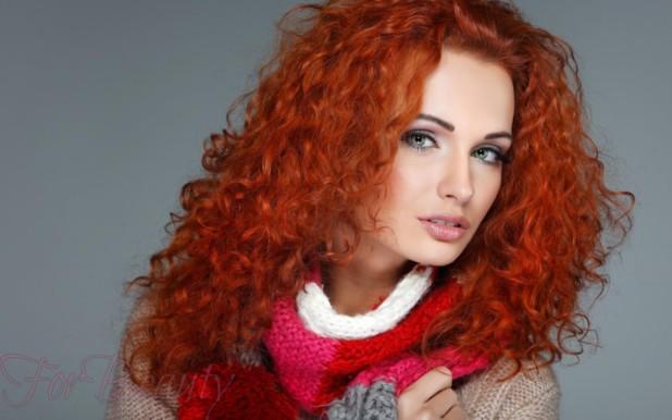 покраска для рыжих волос 2018 на средние волосы