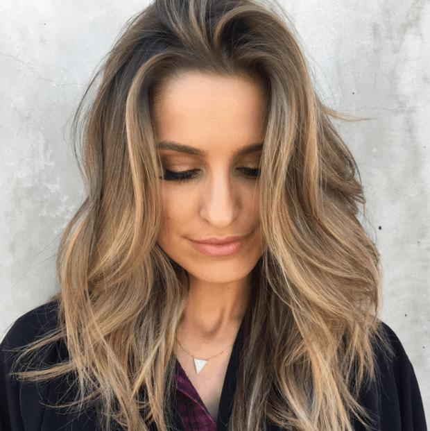 покраска для русых волос 2018-2019 на средние волосы