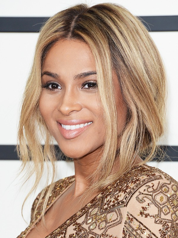 покраска волос для «натуральных» блондинок на средние волосы