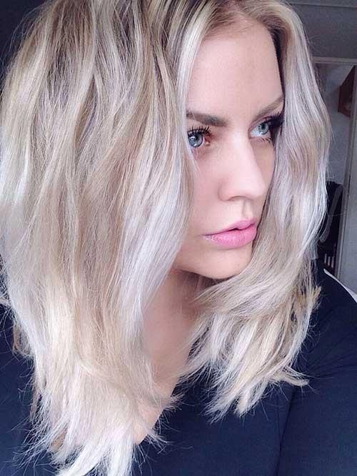 Модная покраска волос для брюнеток на средние волосы фото