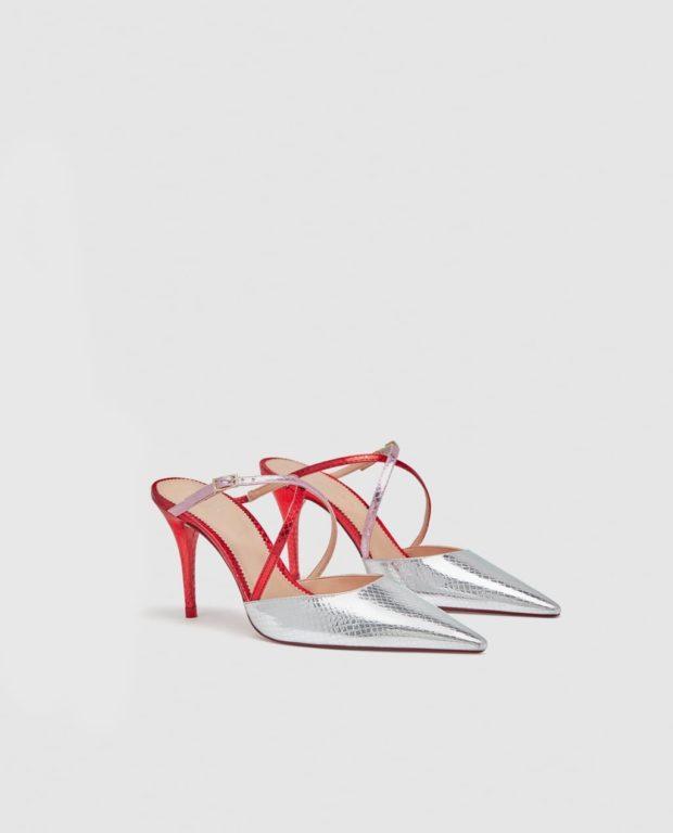 Модная обувь на шпильке 2021