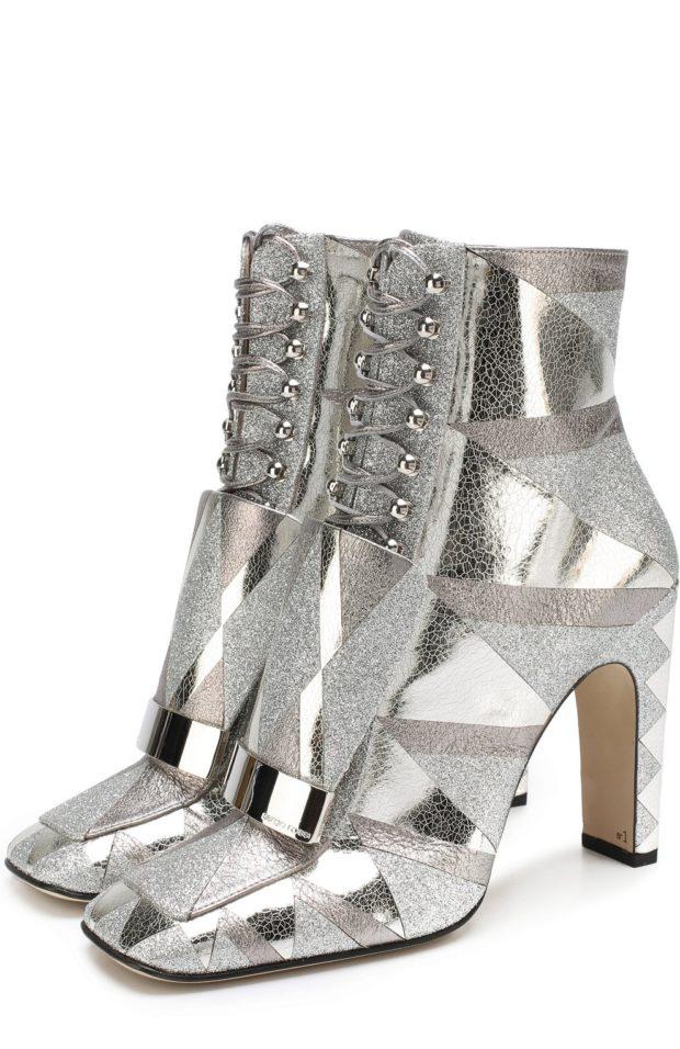 Модная обувь из декоративной кожи 2020