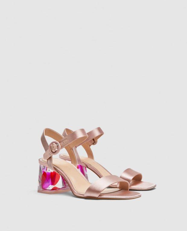 Модная обувь с толстыми каблуками 2018-2019