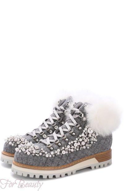 Модная обувь из декоративной кожи 2018