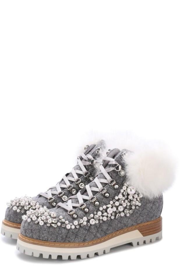 Модная обувь из декоративной кожи 2018-2019