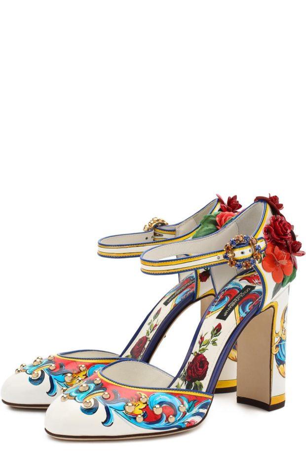 Модная обувь из декоративной кожи 2020-2021