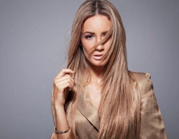 окрашивание на длинные волосы: колорирование