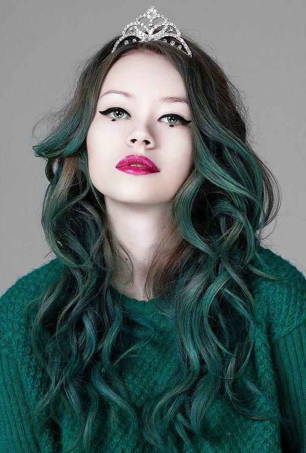 колорирование на длинные волосы 2018