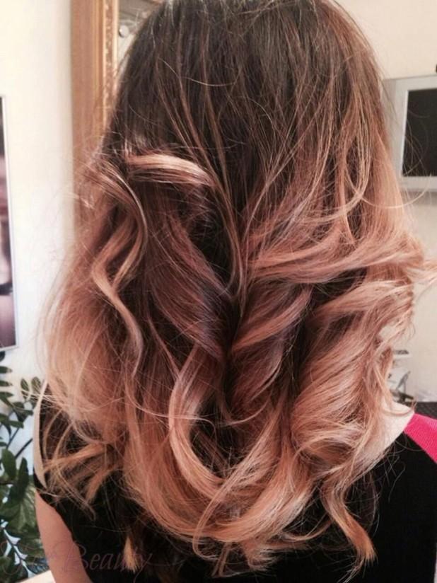 брондирование на длинные волосы 2018