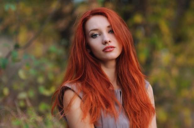 окрашивание в красный цвет на длинные волосы 2018