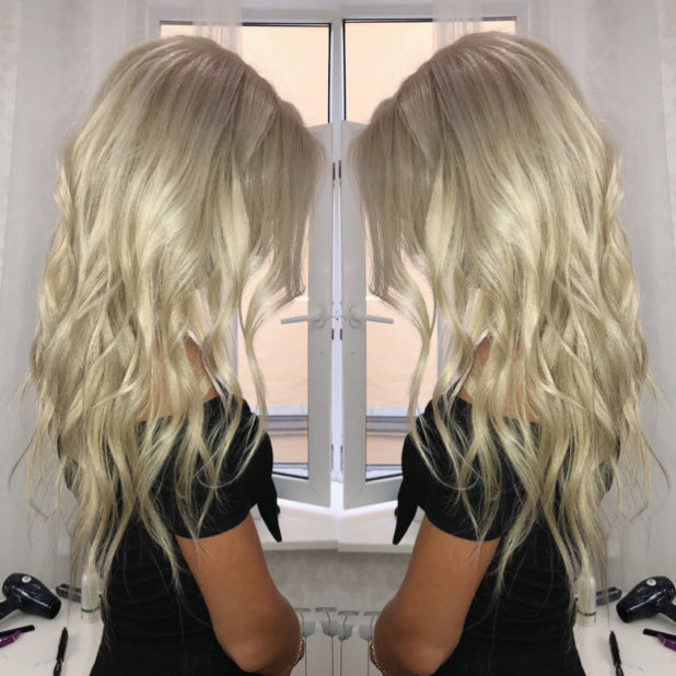 Модное окрашивание 2018-2019 на длинные волосы фото