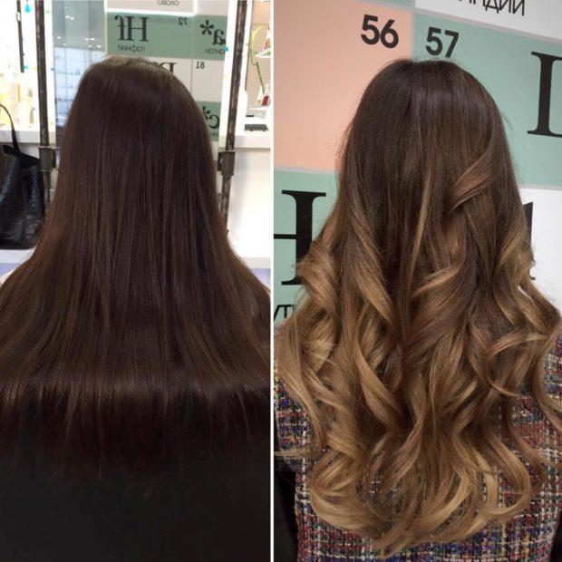 окрашивание волос: блонд