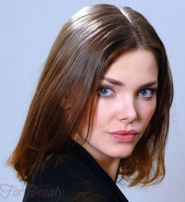 Модное окрашивание волос с шоколадным отливом 2018 году на короткие волосы