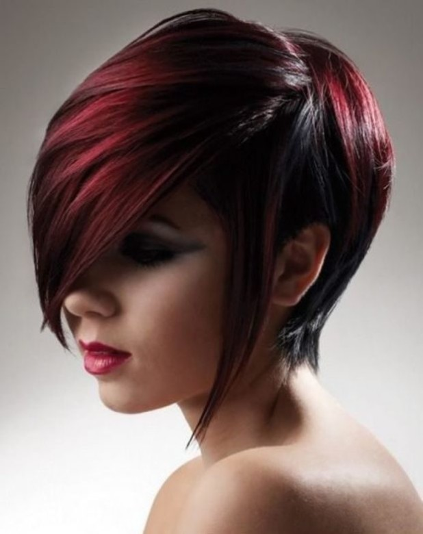 3D окрашивание коротких волос