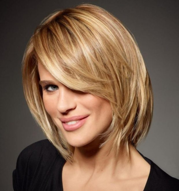 3D окрашивание волос на короткие волосы