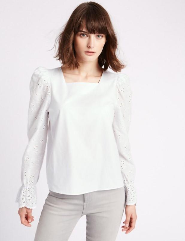 Модные блузки для офисногодресс-кода 2018-2019 фото