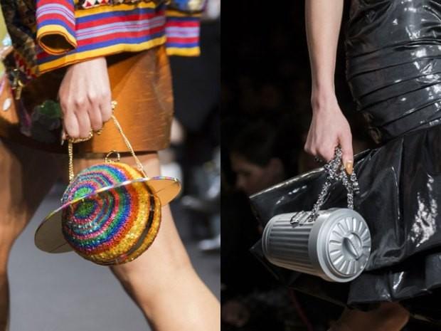 пластиковые сумки осень зима 2019 2020