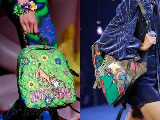 Модная цветовая палитра в сумках осень зима 2017 - 2018 фото