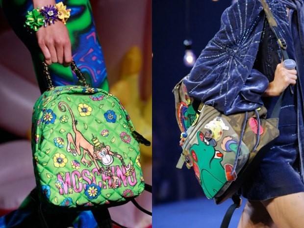 Модная цветовая палитра в сумках осень зима 2019 2020 фото