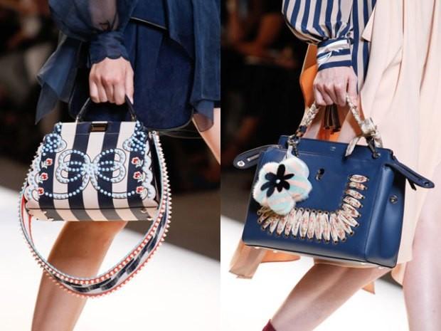 Модная цветовая палитра в сумках саквояжах осень зима 2019 2020