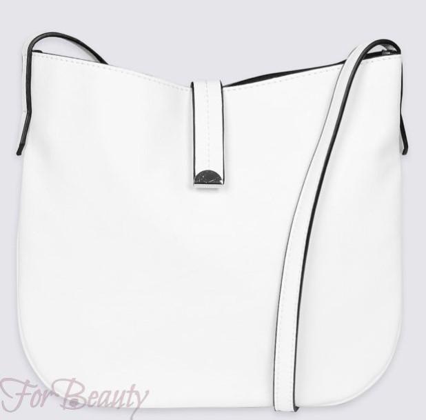 Модные белые сумки осень зима 2017- 2018