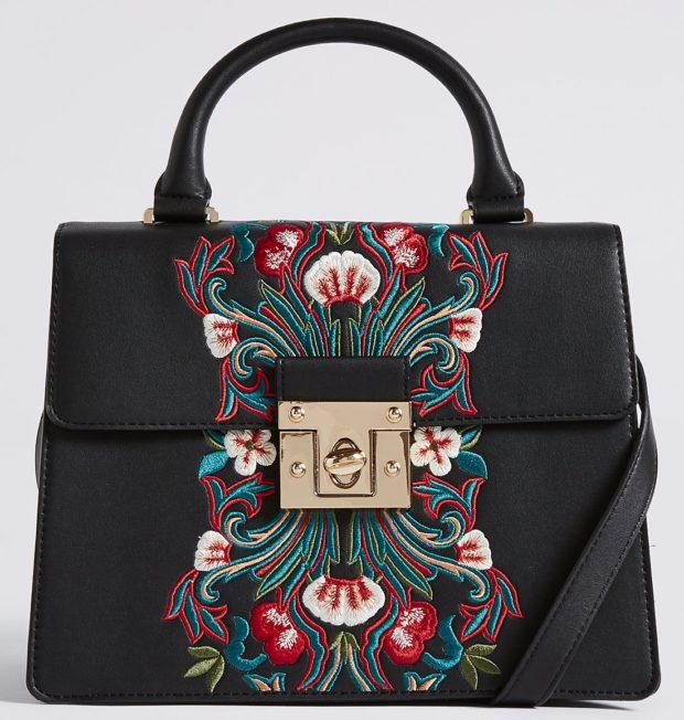 Модные черные сумки осень зима 2019 2020 фото
