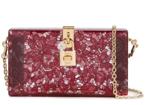 Модные красные сумки клатч осень зима 2019 2020