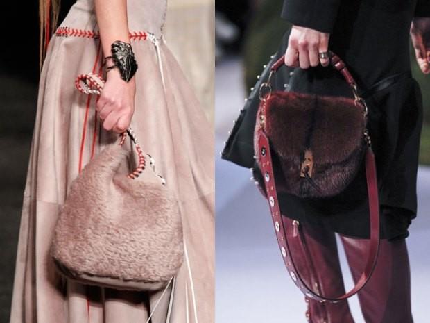 Меховые сумки осень зима 2019 2020
