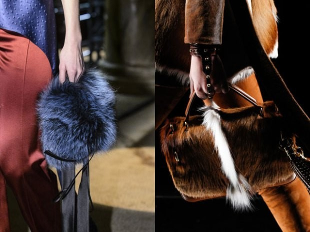 Меховые сумки осень зима 2019 2020 фото