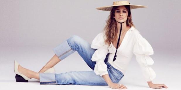 стильный джинсовый лук