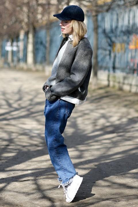 Модный уличный лук