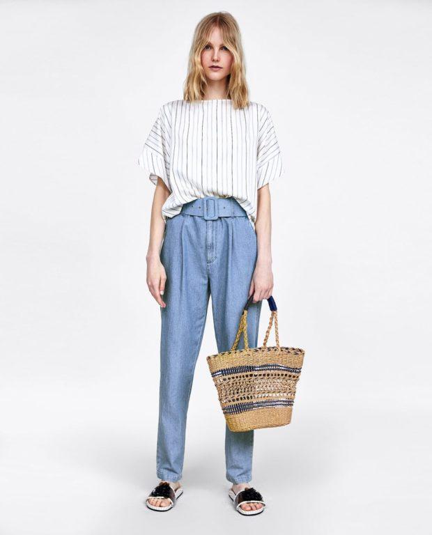 Модный джинсовый лук