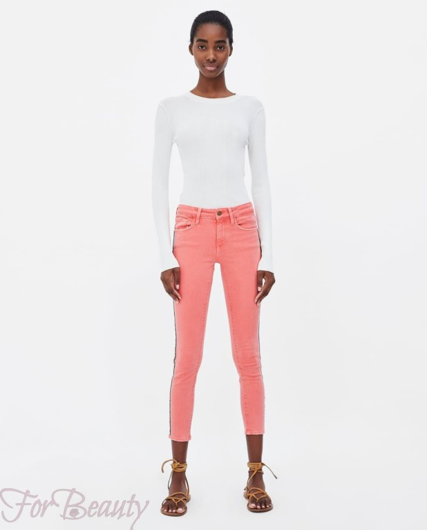 Модный джинсовый лук 2018