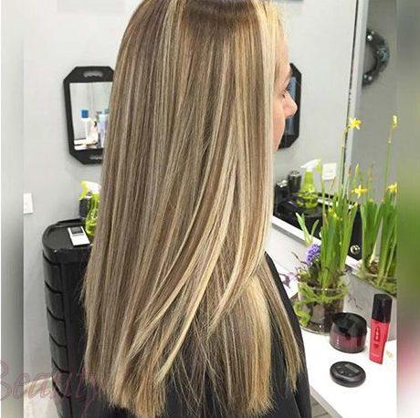 красивое брондирование на длинные волосы 2018-2019 фото