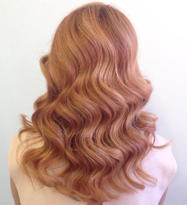 стильное окрашивание на длинные волосы: колорирование фото карамель