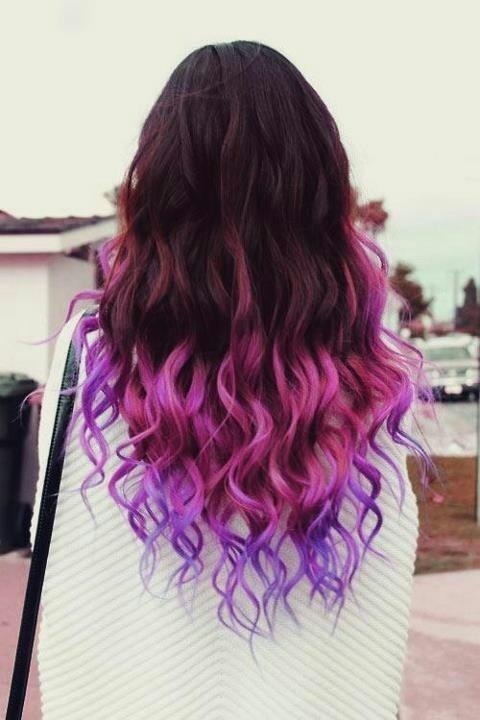 Модное колорирование на длинные волосы 2018 фото омбре