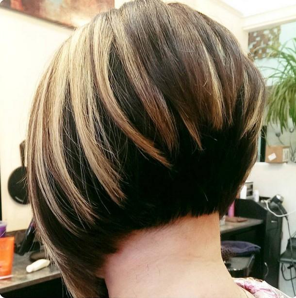 балаяж2018 году на короткие волосы фото