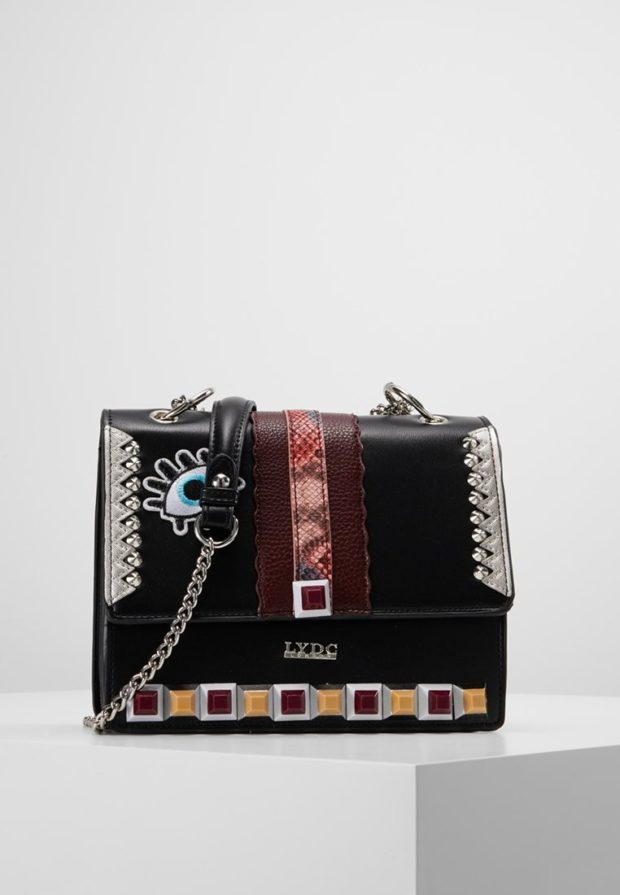 Модные черные сумки осень зима 2019 2020