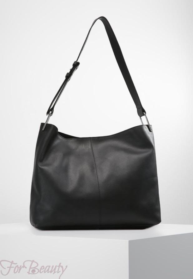 Модные черные сумки осень зима 2018 2019