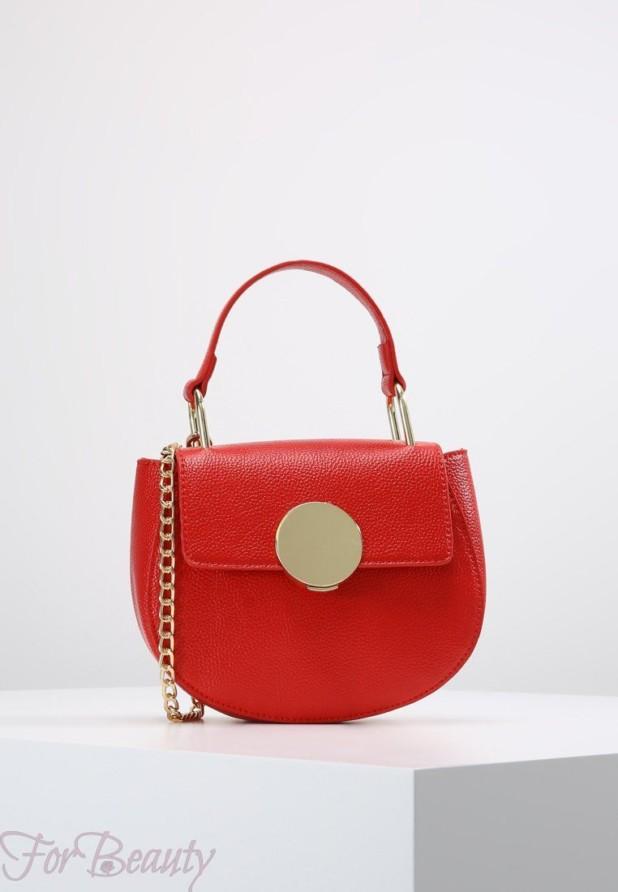 Модные красные сумки осень зима 2018 2019