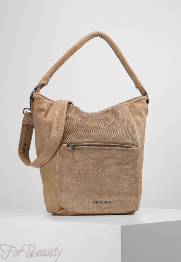 Модные бежевые сумки осень зима 2018 2019