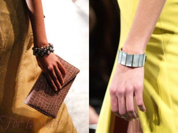 Модные браслеты бижутерия 2018