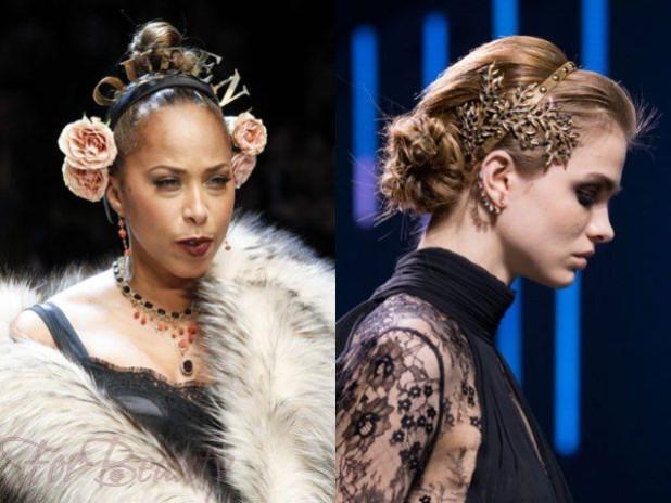 Модные украшения для волосбижутерия 2018