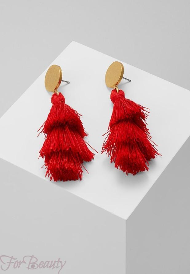 Модные серьги икаффы,трендыбижутерия 2018