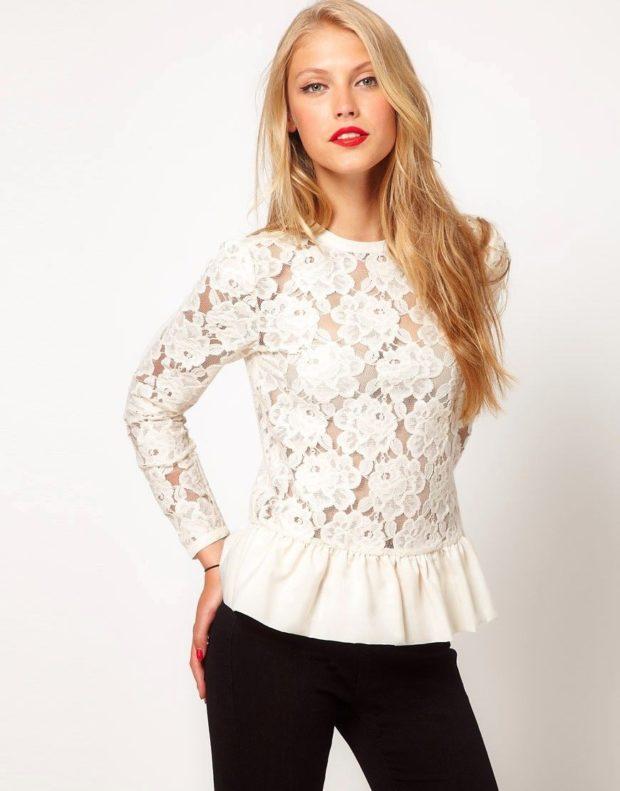 блузки 2023 года модные тенденции фото
