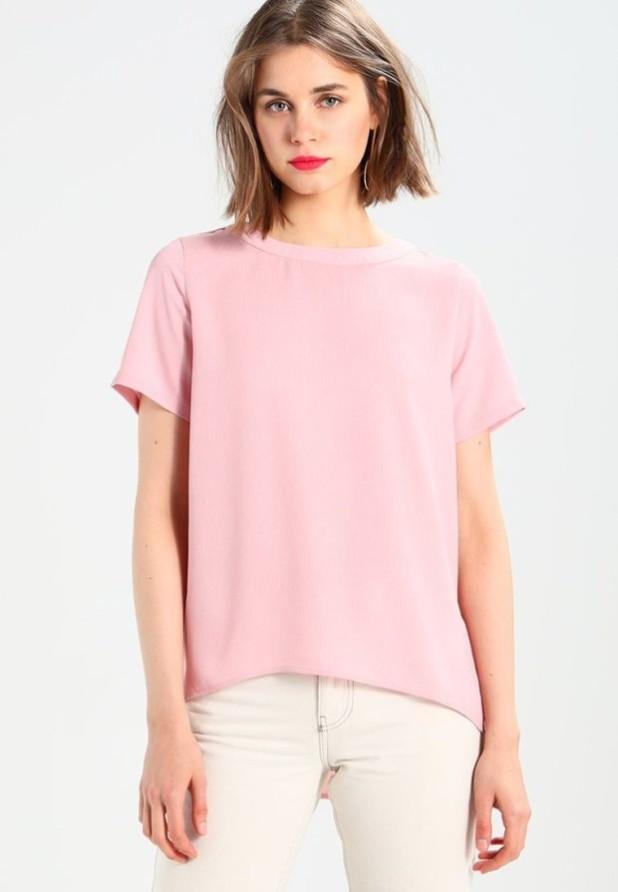 Модная розовая женская блузка 2018-2019