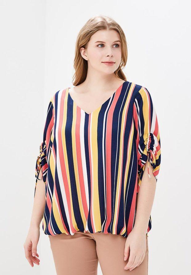 модные блузки 2021