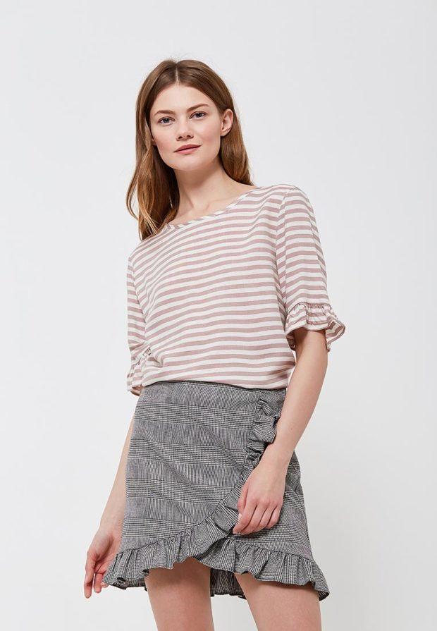 модные блузки 2022