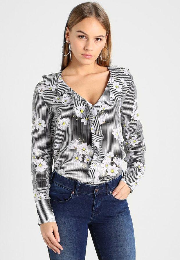модные блузки 2023