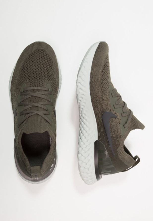 Модные зеленые женские кроссовки 2018-2019